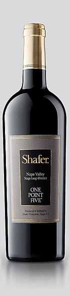 one point five wine bottle