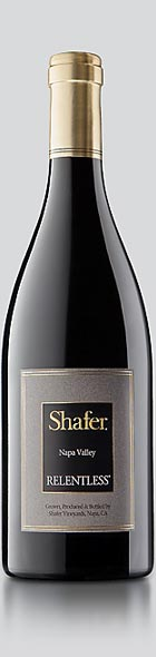 Relentless wine bottle