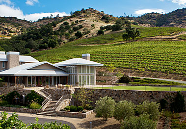 shafer building in vineyard